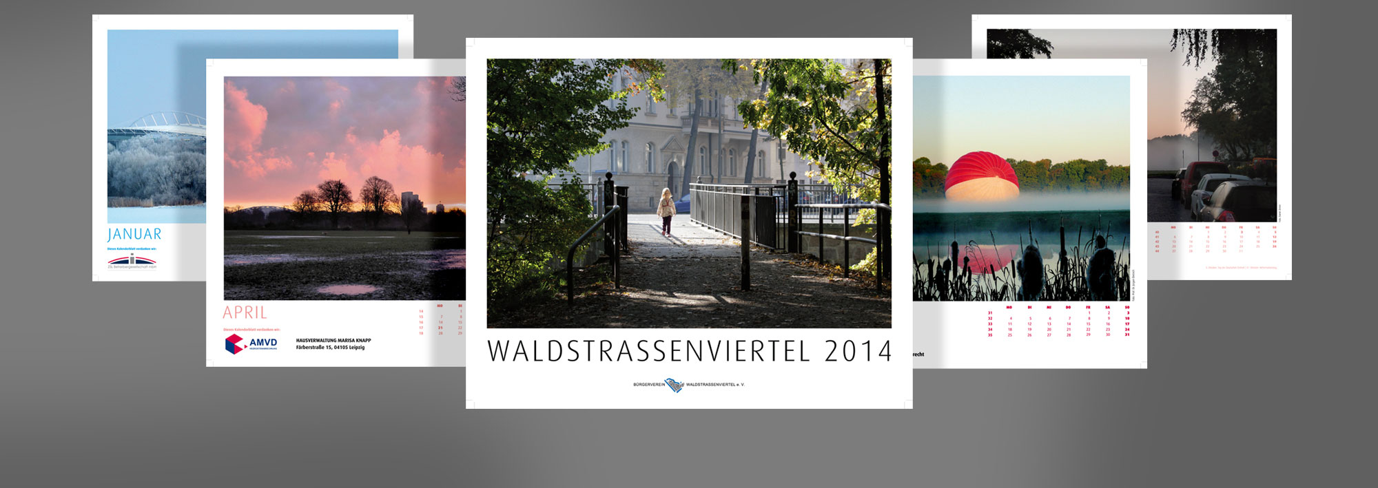 Sneak Preview: Waldstraßenviertel Kalender 2014