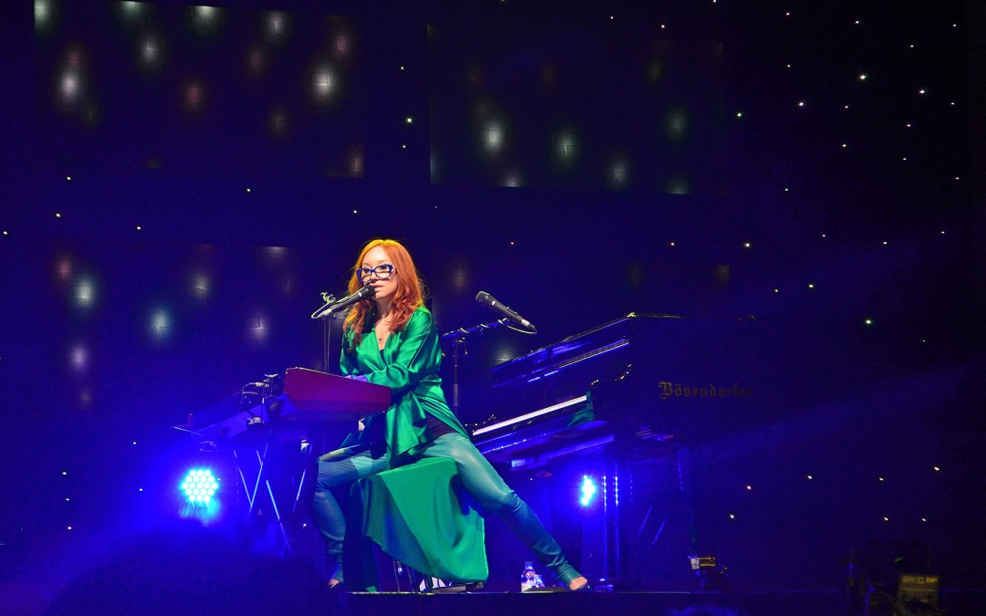 Tori Amos live in Hamburg. Foto: Andreas Reichelt