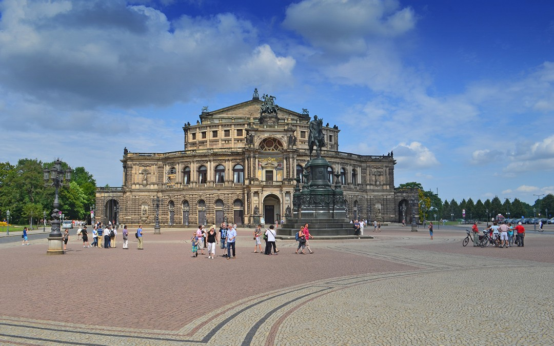 Die Semperoper in Dresden | Foto: Andreas Reichelt