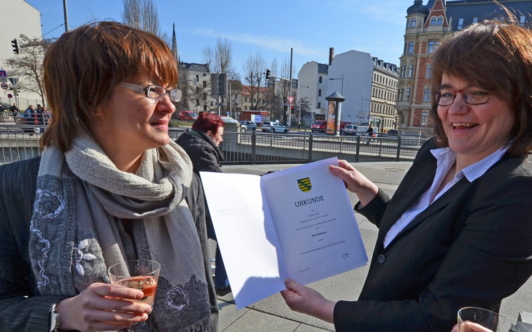 G & G: Carmen Grube als Steuerberaterin vereidigt