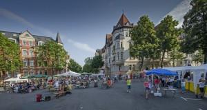 23. Großes Funkenburgfest des Bürgervereins Waldstraßenviertel e. V.; Foto: Andreas Reichelt