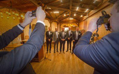 Hafen trifft Festland – Netzwerk Logistik lud zum 70. Netzwerkabend ins Gondwanaland