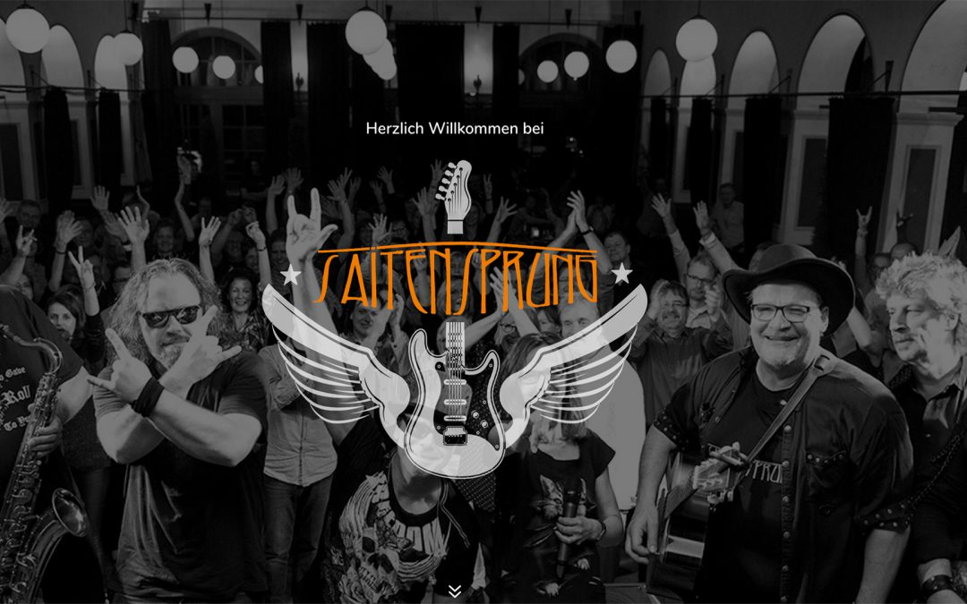 Sneak Preview: Website-Relaunch für die Leipziger Band Saitensprung