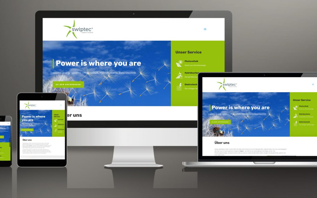 Relaunch Internetauftritt swiptec GmbH
