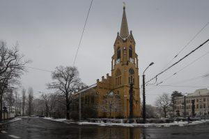 Friedenskirche Leipzig. 24.01-2021; Foto: Andreas Reichelt