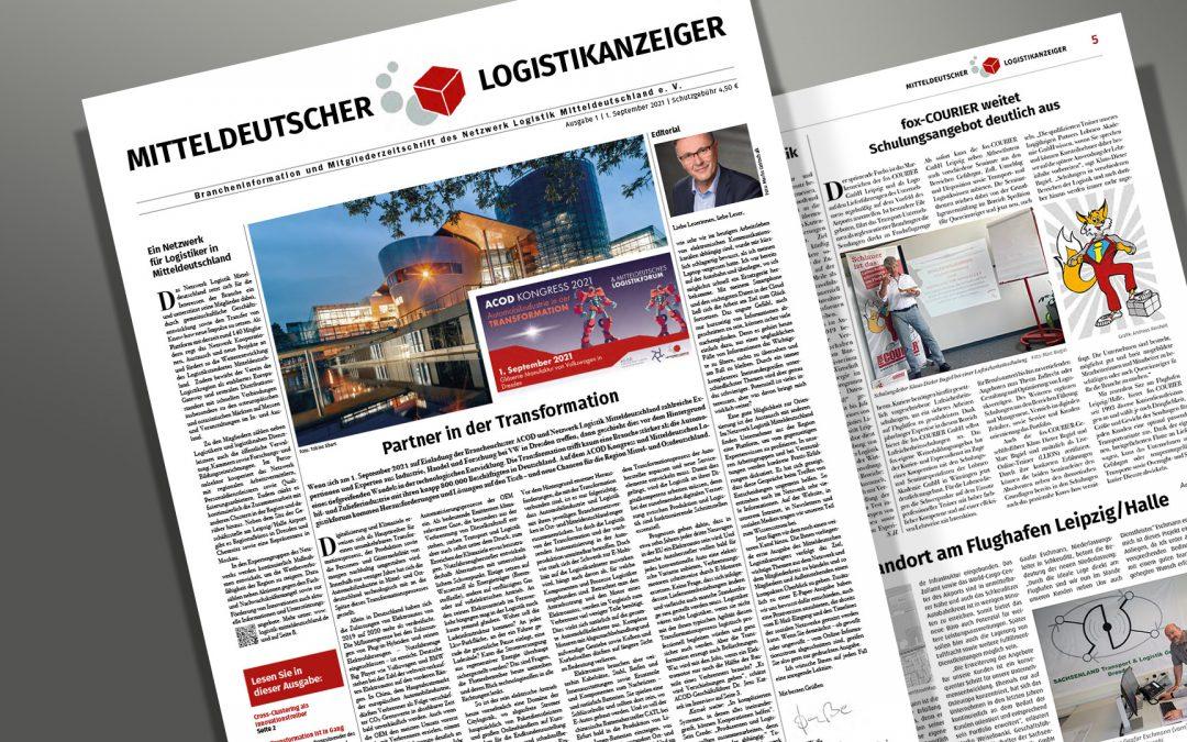 Mitteldeutscher Logistikanzeiger Packshot Rechelt
